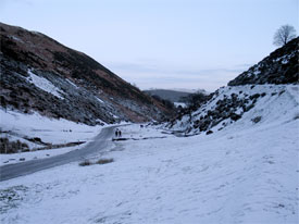 winter, Cardingmill Valley